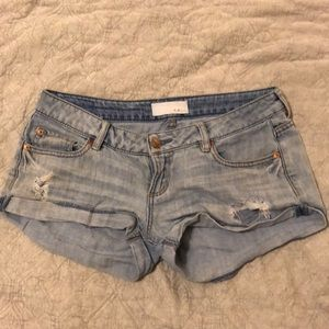 Garage denim jean shorts size 2
